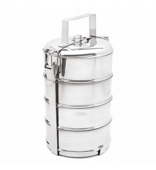 TADAR Pojemnik obiadowy / menażka 16 cm / 4 pojemniki