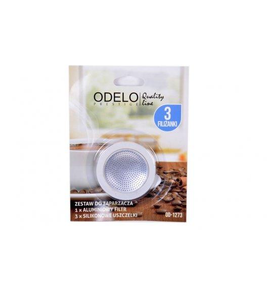 ODELO Zestaw do zaparzacza espresso 3 filiżanki, OD1274