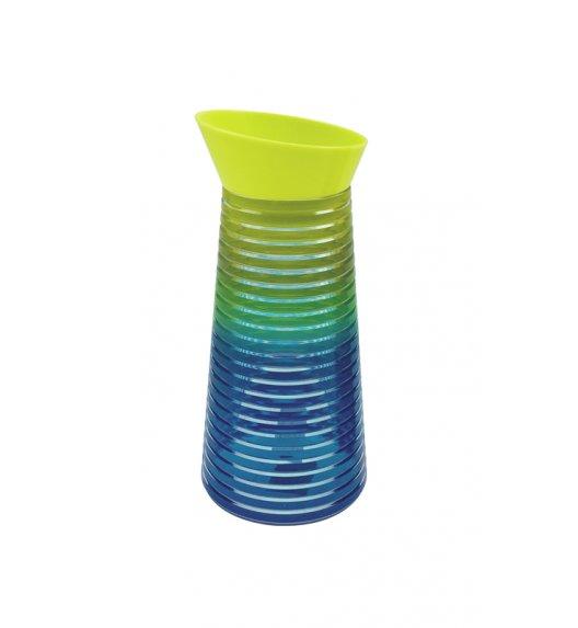 ZAK! DESIGNS RAINBOW Karafka na napoje, 1 L, zielono-niebieska /Btrzy