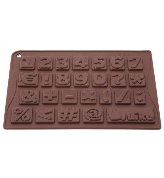 PAVONIDEA Forma na czekoladowe pralinki / cyferki / Btrzy