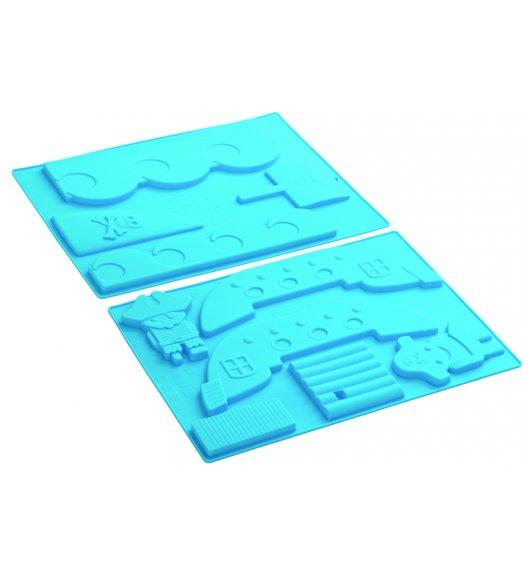 PAVONIDEA PIRAT silikonowa forma wieloelementowa do wypieków /Btrzy