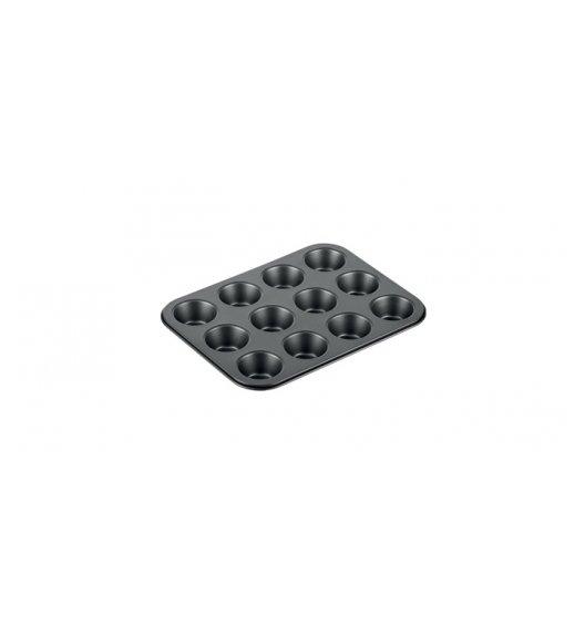 TESCOMA DELICIA Forma na 12 mini muffinek 26 x 20 cm / powłoka antyadhezyjna