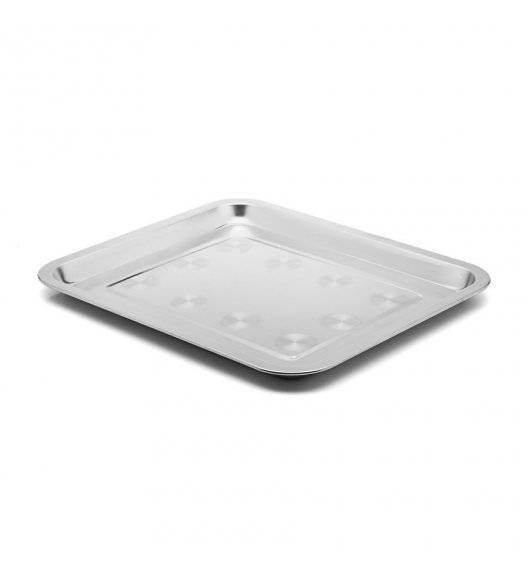 TADAR Taca gastronomiczna prostokątna 32 x 27 cm / stal nierdzewna