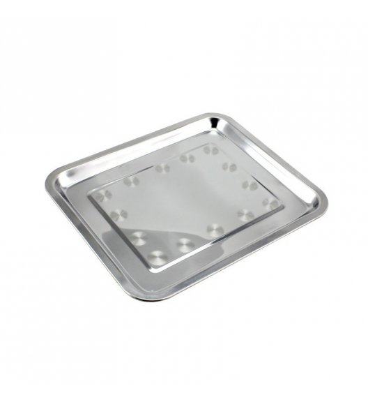 TADAR Taca gastronomiczna prostokątna  40 x 30 cm / stal nierdzewna