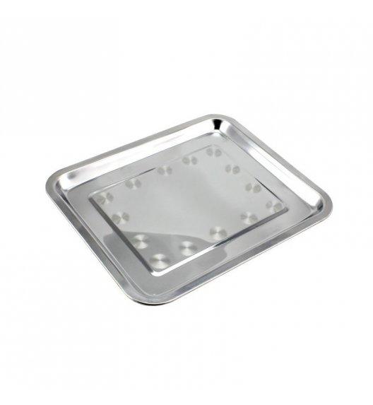 TADAR Taca gastronomiczna prostokątna 45 x 35 cm / stal nierdzewna
