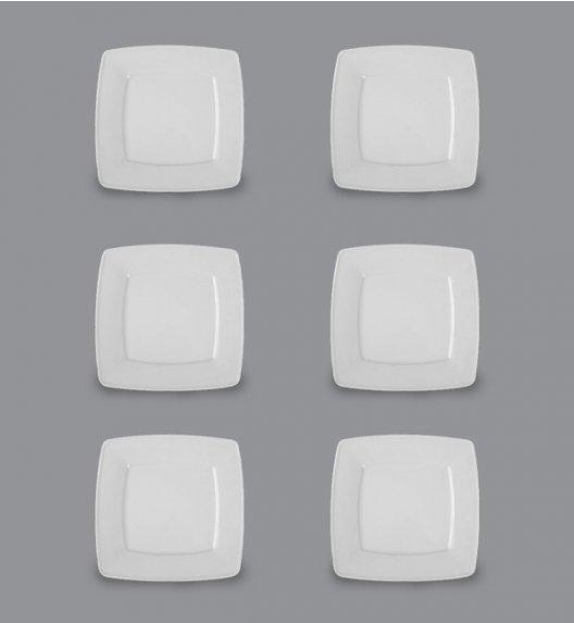 LUBIANA VICTORIA 6 x talerz deserowy 19 cm / porcelana