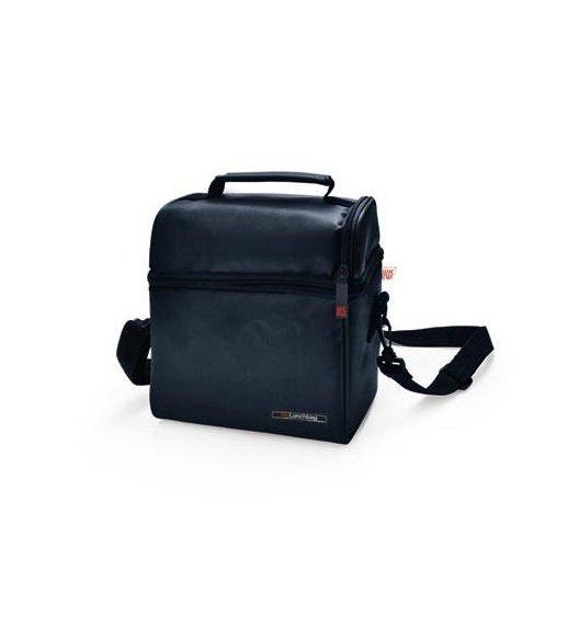 Iris Lunch bag OPTIMAL czana torba + 2 pojemniki i butelka / Btrzy