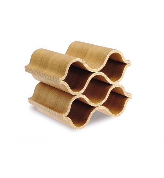 LEGNOART Madera Drewniany stojak na wino / drewno dębowe / Btrzy