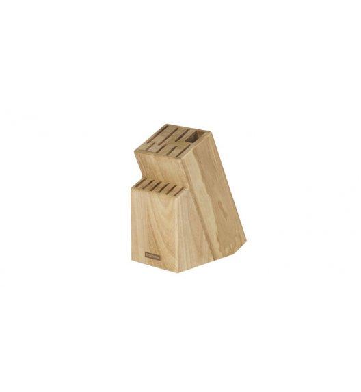 TESCOMA WOODY Drewniany blok na 13 noży, nożyce i ostrzałkę
