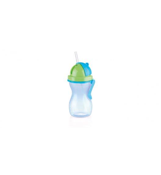 TESCOMA BAMBINI Butelka dziecięca ze słomką 300 ml / zielono - niebieska