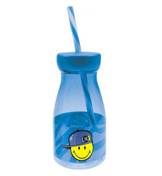 ZAK! DESIGNS Butelka ze słomką dla chłopczyka Smiley Kid / Btrzy