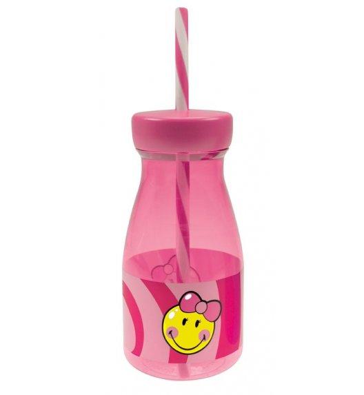 ZAK! DESIGNS SMILEY KID Butelka ze słomką dla dziewczynki / Btrzy