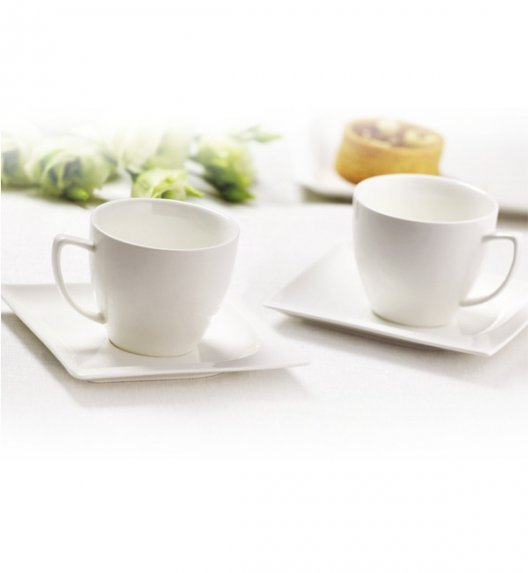 AMBITION MONACO Serwis kawowy 12 elementów dla 6 osób / Porcelana / 94627