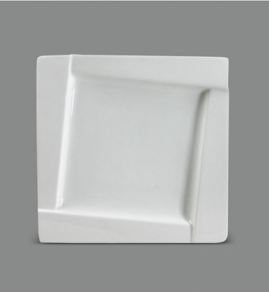 AMBITION KUBIKO Talerz deserowy 20 cm / Porcelana / 61201