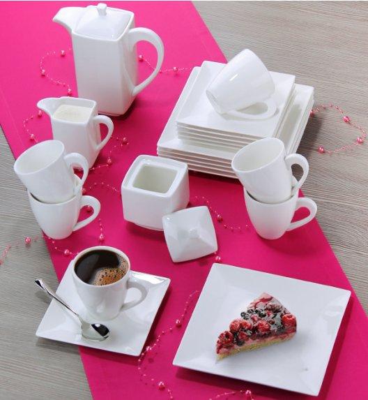 AMBITION PORTO Serwis kawowy 23 elementy dla 6 osób / Porcelana / 33990