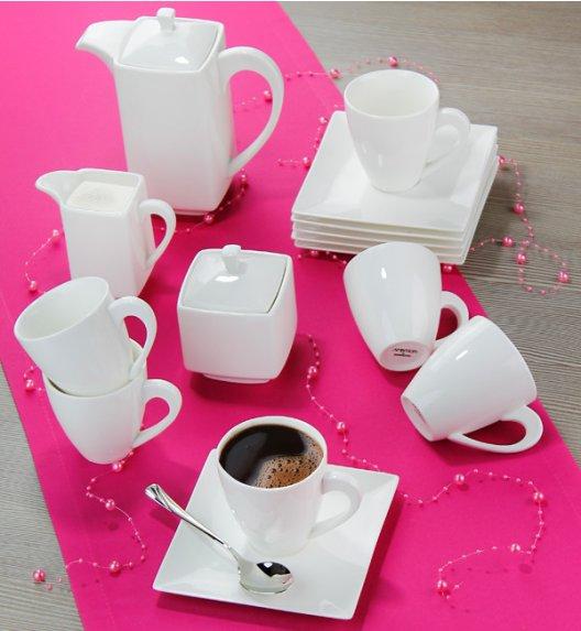 AMBITION PORTO Serwis kawowy 17 elementów dla 6 osób / Porcelana / 33988