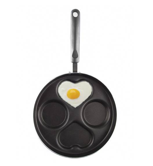AMBITION GRAPHITE Patelnia do jajek 26 cm / czarna / 34059