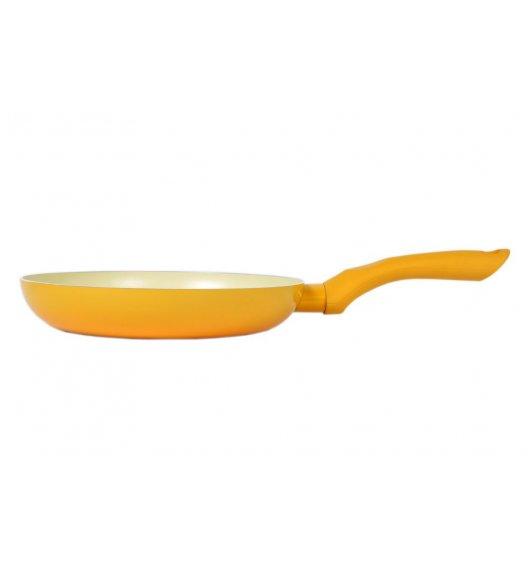 ODELO Żółta patelnia z ceramiczną powłoką 24 cm / indukcja / OD1187Y