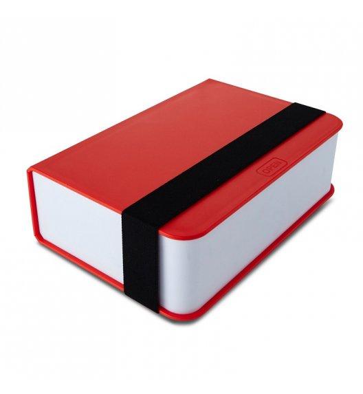BLACK+BLUM Lunch Box w kształcie książki czerwony 400 ml / Btrzy