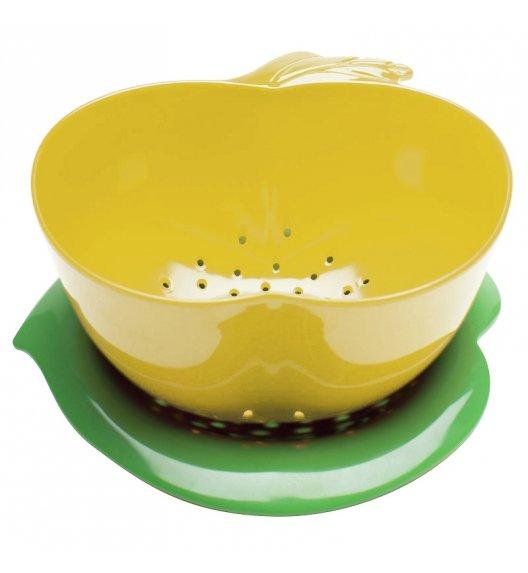 ZAK! DESIGNS Durszlak z podstawką, jabłko żółto - zielone / Btrzy