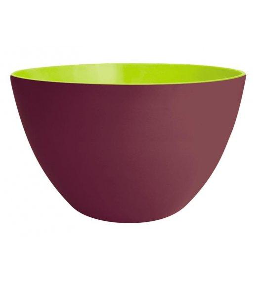 ZAK! DESIGNS Dwukolorowa miska kasztanowo - zielona 22 cm / Btrzy