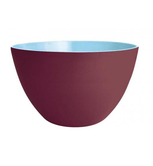 ZAK! DESIGNS Dwukolorowa miska kasztanowo - niebieska 28 cm / Btrzy