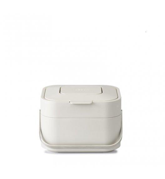 JOSEPH JOSEPH STACK Pojemnik z filtrem na odpady organiczne beżowy / Btrzy