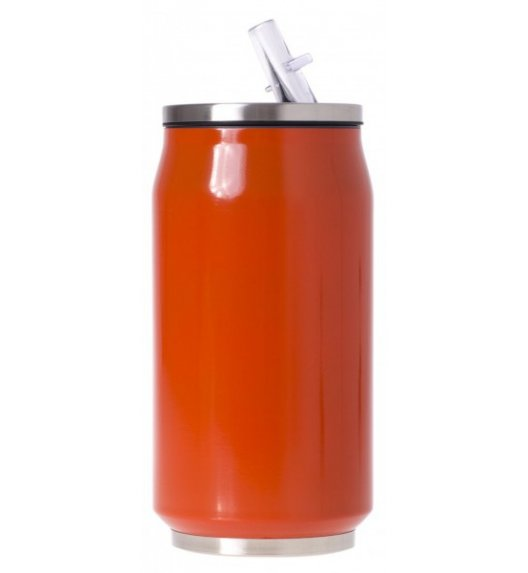 ODELO Kubek termiczny / bidon 350 ml / czerwony / OD1378