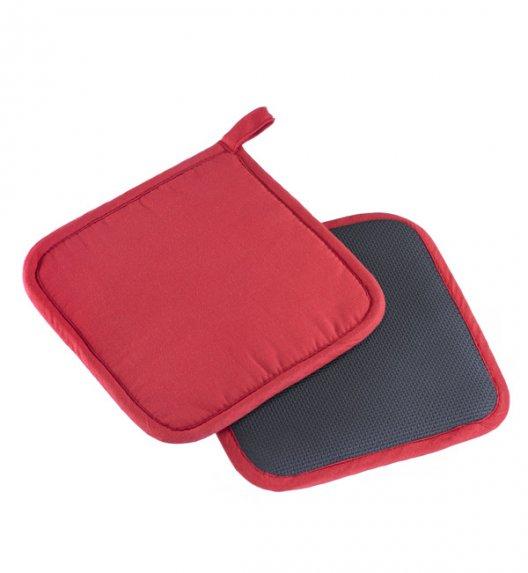WESTMARK Zestaw 2 podkładek kuchennych / powłoka z neoprenu / czerwono-czarne