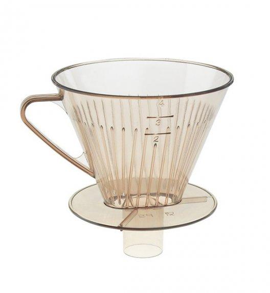 WESTMARK Plastikowy filtr do kawy z rączką / rozmiar 4 / transparentny