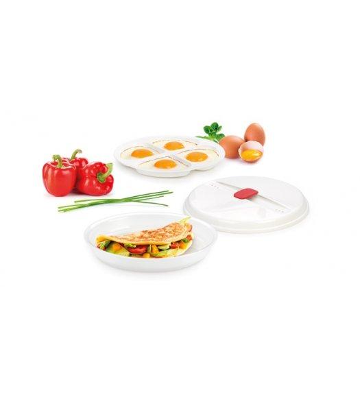 TESCOMA PURITY MicroWave Miska do przygotowywania omletów i sadzonych jajek w kuchence mikrofalowej VIDEO