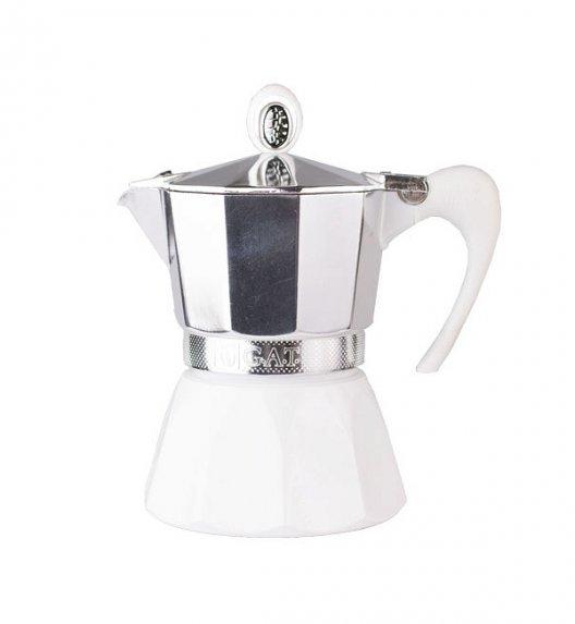 G.A.T. DIVA Kawiarka aluminiowa na 6 espresso / biała