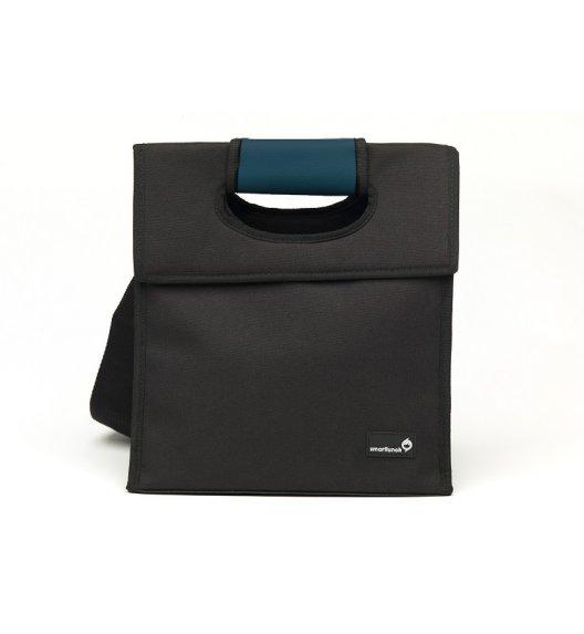 SMART LUNCH Smart Cover Torba na lunch uniwersalna / czarno-niebieska / btrzy
