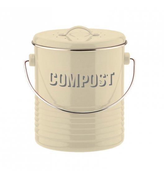 TYPHOON Kompostownik z filtrem neutralizującym zapach 3 l VINTAGE KITCHEN, kremowy / Btrzy