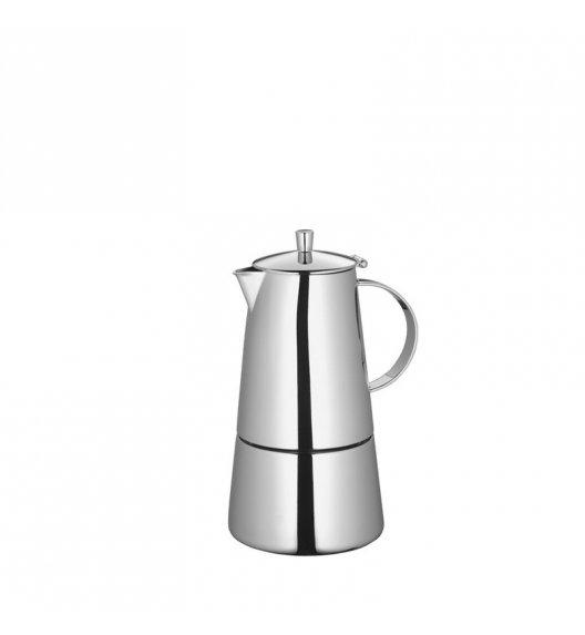 CILIO Stalowa kawiarka na 4 espresso, indukcja / FreeForm
