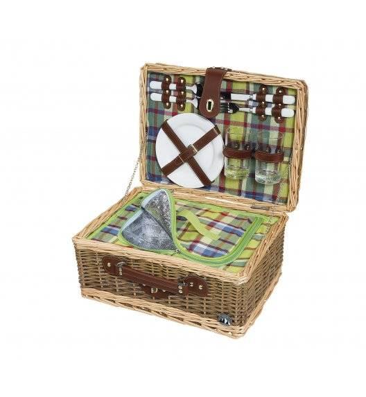 CILIO MELANO Kosz piknikowy dla 2 osób z wyposażeniem / wiklina