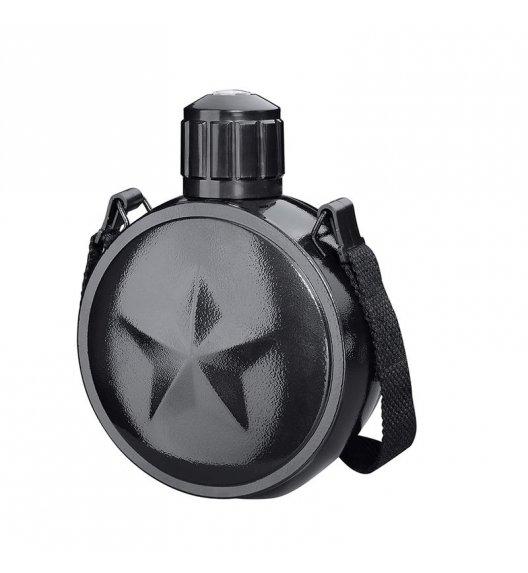 CILIO Stalowa manierka z kompasem MONTE czarna 0,7 l / FreeForm