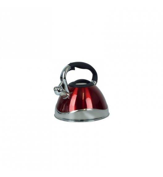 KELA VARUS Czajnik z gwizdkiem 3 l indukcja / czerwony