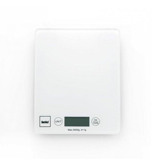 KELA PINTA Cyfrowa waga kuchenna do 5 kg / biała