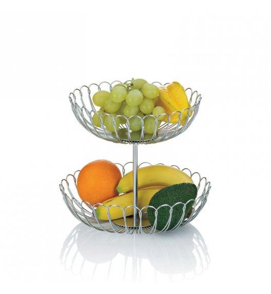 KELA PRATO Podwójna patera / kosz na owoce ⌀ 25 cm
