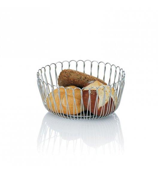 KELA PRATO Stalowy kosz na owoce lub pieczywo ⌀ 21,5 cm / FreeForm