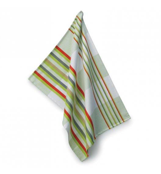 KELA AMALIE Ściereczka kuchenna 70 x 50 cm / zielone pasy