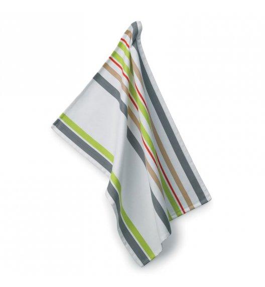 KELA Ściereczka kuchenna AMALIE 70 x 50 cm, biało-szara / FreeForm