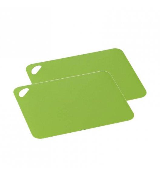 ZASSENHAUS Zestaw 2 elastycznych desek do krojenia 29 x 19 cm, zielona / FreeForm
