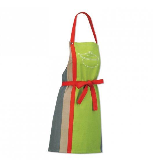 KELA Fartuch kuchenny AMALIE 74 x 64 cm zielono-czerwony / FreeForm