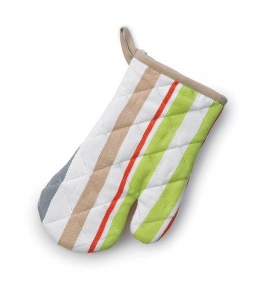 KELA Rękawica kuchenna AMALIE 28 x 18 cm, kolorowe paski / FreeForm