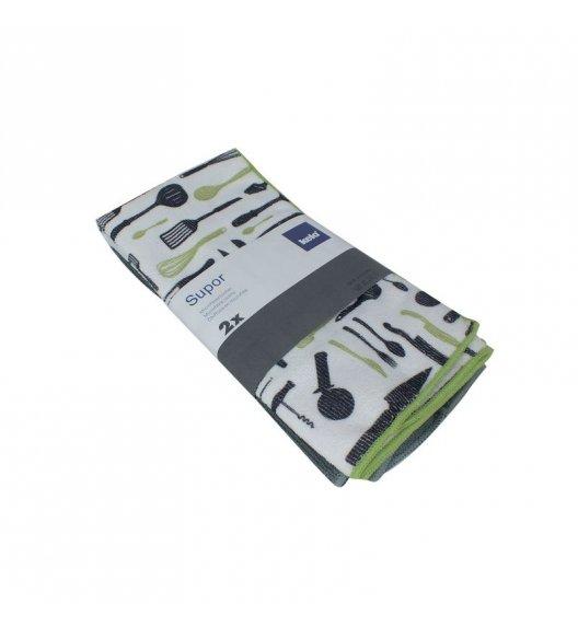 KELA Zestaw 2 ręczników z mikrofibry SUPOR 60 x 40 cm / FreeForm