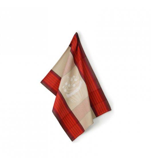 KELA Ściereczka kuchenna FRIDA 70 x 50 cm, czerwona / FreeForm