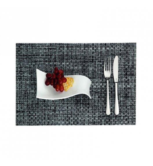 KELA Podkładka na stół PLATO 45 x 30 cm czarno-biała / FreeForm