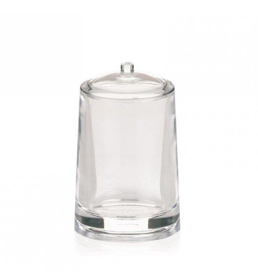 KELA SINFONIE Akrylowy pojemnik na płatki kosmetyczne z pokrywką ⌀ 7,5 cm